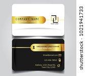 premium gold black and white...   Shutterstock .eps vector #1021941733