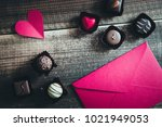 valentine's day chocolate | Shutterstock . vector #1021949053
