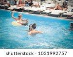 odessa  ukraine june 15  2014 ... | Shutterstock . vector #1021992757