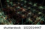 blockchain network concept  ... | Shutterstock . vector #1022014447