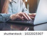 closeup image of a business...   Shutterstock . vector #1022025307