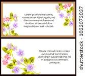vintage delicate invitation... | Shutterstock .eps vector #1022073037