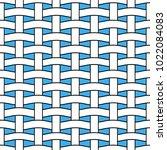 basket weave seamless pattern.... | Shutterstock .eps vector #1022084083