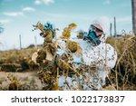 weed control. industrial...   Shutterstock . vector #1022173837