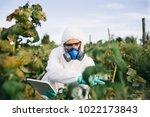 weed control. industrial...   Shutterstock . vector #1022173843