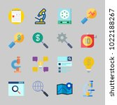 icons about inspiration with... | Shutterstock .eps vector #1022188267