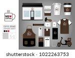 corporate identity template set ... | Shutterstock .eps vector #1022263753