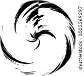 black and white grunge line... | Shutterstock . vector #1022269297
