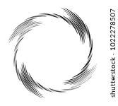 geometric radial element....   Shutterstock .eps vector #1022278507