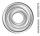 geometric radial element.... | Shutterstock .eps vector #1022278573