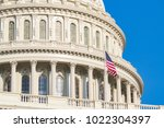 dome of the united states... | Shutterstock . vector #1022304397