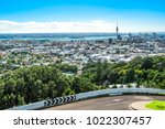 aerial view of auckland city... | Shutterstock . vector #1022307457