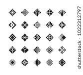 diamond shape   geometric...   Shutterstock .eps vector #1022312797