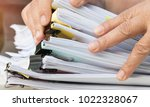 document report and business... | Shutterstock . vector #1022328067