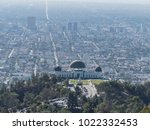aerial view of griffith... | Shutterstock . vector #1022332453