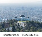 aerial view of griffith... | Shutterstock . vector #1022332513