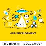 app development concept on...