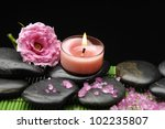 spa sitting with rose and...   Shutterstock . vector #102235807