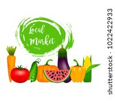 collection of realistic healthy ...   Shutterstock .eps vector #1022422933