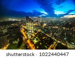 asia business concept for real... | Shutterstock . vector #1022440447