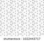 seamless ornamental vector...   Shutterstock .eps vector #1022443717