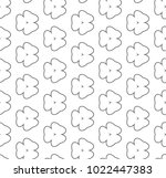 seamless vector pattern in... | Shutterstock .eps vector #1022447383