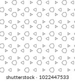 seamless vector pattern in... | Shutterstock .eps vector #1022447533