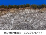 salty hills in summer at... | Shutterstock . vector #1022476447
