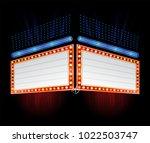 hottest movie premiere | Shutterstock .eps vector #1022503747