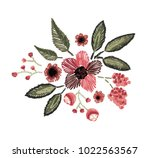 vector illustration. floral... | Shutterstock .eps vector #1022563567