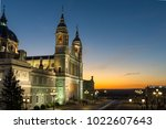 madrid  spain   january 22 ... | Shutterstock . vector #1022607643
