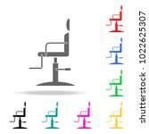 barber chair icon. barber...