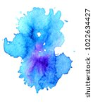 colorful abstract watercolor... | Shutterstock .eps vector #1022634427