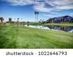 palm springs golf course...   Shutterstock . vector #1022646793