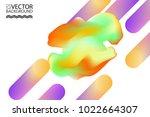 marble cloud trendy... | Shutterstock .eps vector #1022664307