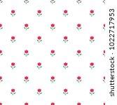 seamless flower pattern... | Shutterstock .eps vector #1022717953