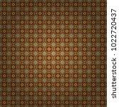 vector seamless bandana print... | Shutterstock .eps vector #1022720437