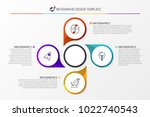 infographic design template.... | Shutterstock .eps vector #1022740543