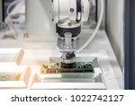 industry 4.0 robot concept ... | Shutterstock . vector #1022742127