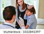 terrible medical concept.... | Shutterstock . vector #1022841397