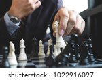 close up of hands confident... | Shutterstock . vector #1022916097