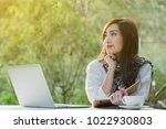 beautiful young teenage woman... | Shutterstock . vector #1022930803