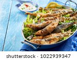 healthy mediterranean or greek... | Shutterstock . vector #1022939347