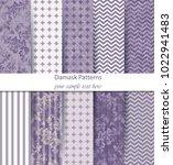 baroque pattern trendy texture... | Shutterstock .eps vector #1022941483