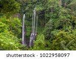 hidden in jungles beautiful... | Shutterstock . vector #1022958097