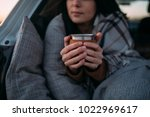 cropped unrecognisable woman...   Shutterstock . vector #1022969617