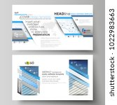 business templates in hd format ... | Shutterstock .eps vector #1022983663