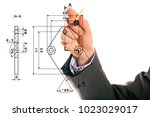 mechanical engineering concept | Shutterstock . vector #1023029017