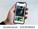 izmir  turkey   january 14 ... | Shutterstock . vector #1023058663
