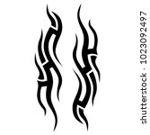 tattoo tribal vector design....   Shutterstock .eps vector #1023092497